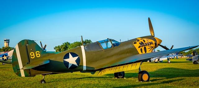 Ikonische Flugzeuge aus dem 2. Weltkrieg
